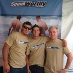 Three Straight Boys Fooling Around & Jacking Off At Gay Pride Event