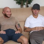 Straight Stud James Hamilton Fucks Bearded Horndog Drake Jaden With His 9.5-Inch Cock