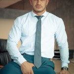 Sexy Men In Suit & Tie Dato Foland & Denis Vega Flip-Flop Fucking