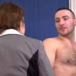Pervy Female Hotel Staff Inspect Terry Butcher's Hairy Ass & Cock
