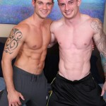 Straight Fitness Trainer Palmer & Muscled Stud Cooper Fuck Each Other Raw