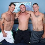 Sexy Straight Guys Sterling & Dusty Tagteam Hung Hairy Stud Bay