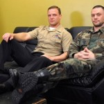 Beefy Corpsman Logan Pounds Sergeant Miles' Tight Military Ass
