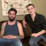 Extra-Hung Bearded Straight Man Dimitry Barebacks & Breeds Cute Gay Dude Cary