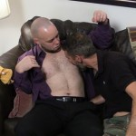 Beefy Straight Man Dave Gets Serviced By Dedicated Cocksucker Jim