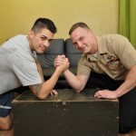 Hunky Corpsman Logan Fucks His Buddy Paolo With His Thick Military Cock