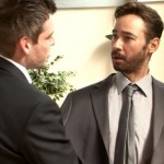 Handsome Bearded Executive Oscar Gets Fully Inspected By His Pervy Colleagues