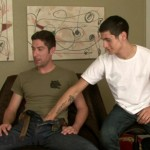 Hung Straight Man Mitchell & Eager Gay Dude Evereth Exchange Blowjobs