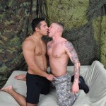 Ripped Military Stud Seth Plows Private Tyler's Tight Ass Hard & Deep