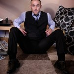 Handsome Manly Hunk Shane Lewis Strokes His 7-Inch Hard Dick