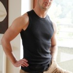Handsome Cute Stud Corrin Sanchez Strokes His Large Stiff Uncut Dick