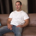 Masculine Hairy Daddy Raymond Strokes His Big Thick Dick
