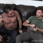 Dominant Hairy Italian Straight Man Franco Face-Fucks Resident Cocksucker Sebastian