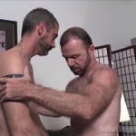 Bearded Men Michael & Jim Exchange Passionate Blowjobs