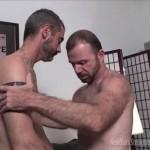 Bearded Men Michael & Jim Exchange Passionate Blowjobs