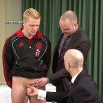 Young Manly Footballer Lee Towser Fully Examined By His Pervy Sponsors