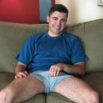 Sexy Straight Dude Adam Strokes His Big Thick Dick