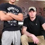 Hot Straight Frat Boys Vadim Black & Cage Kafig Flip-Flop Fucking