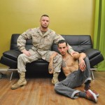 Sergeant Miles Gets A Full Ass Workout From His Buddy Marten
