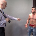 Hot Hairy & Muscular Straight Stud Jamie Fully Inspected By Pervy Clothed Men
