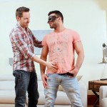 Beefy Hairy Straight Man Jeremy Gets His First Gay Blowjob