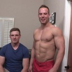 Beefy Ripped Jack Takes Care Of Curtis' Tight Willing Ass