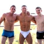 Wild 3-Some With Hot Muscle Men Sean Costin, Derek Jones & Jake Davis