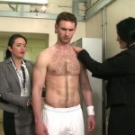 Hot Arrogant Tennis Ace Marcus Andrews Inspected By Curious Female Sponsors