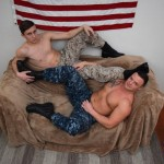 Beefy Ripped Officer Logan Services Private First Class Jett