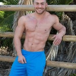 Hot Ripped Masculine Dude Brock Strokes His Big Dick