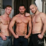Hung Muscled Studs Tom & Marek Bareback & Face Fuck Sexy Bearded Patryk