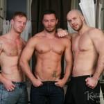 Hung Muscled Studs Tom & Marek Bareback & Face Fuck Sexy Bearded Patryk