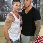 Sexy & Handsome Studs Johnny Hazard & Marxel Rios Flip-Flop Fucking