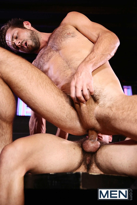 Office blowjob with sexy gay studs