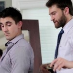 Beefy & Very Hung Straight Man Derrick Dime Fucks His Tailor Abel Archer
