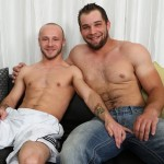 Big Burly Stud Glenn & Eager Sexy Passive Boy Bjorn Suck Each Other's Cock