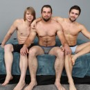 Dominant Muscled Men Glenn & Griffin Take Care Of Submissive Boy Ares