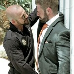 Aggressive Police Officer Felipe Ferro Takes Care Of Businessman's Suspect Ass