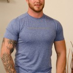 Hung Beefy Ex-Marine Niall Gets His First Helping Hand