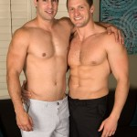 Hung Muscled Dude Randy Fucks His Buddy Brendan Hard & Raw