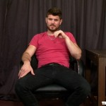 Manly & Beefy Straight Stud Lionel Strokes His Large Uncut Dick