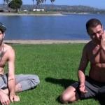 Extra-Hung Wrestler Buck Richards Barebacks & Breeds Brendan's Ass Twice