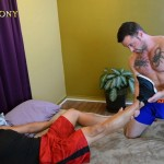 Muscled Hunk Alejandro Plows Miles' Eager Ass Hard & Deep