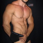 Big Cocky Muscular Hunk Joey D Works Out & Strokes His Cock