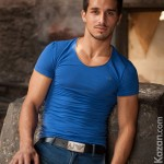 Young & Hung Spanish Hunk Raffaele Jacks Off Among Ancient Italian Ruins