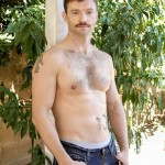 Dirty Uncle Dennis West Teaches His Step Son's Friend About Nude Gardening