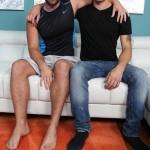 Hung Straight Dude Lambert Gets His First Gay Blowjob