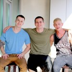 Horny Recruits Allen Lucas, Quentin Gainz & Shawn Have A Scorching Hot 3-Way