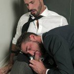 "Passionate Office Sex With Massimo & Flex In ""Blackout"""