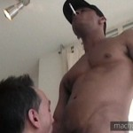 Aggressive Hung Top Mauricio Brasil Ravages Paolo's Eager Boyhole